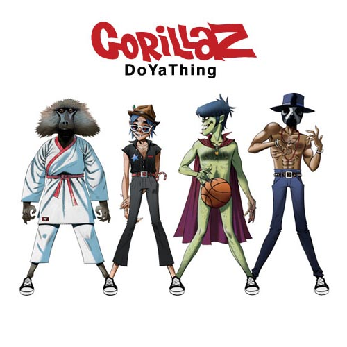 gorillaz doyathing Top 50 Songs of 2012