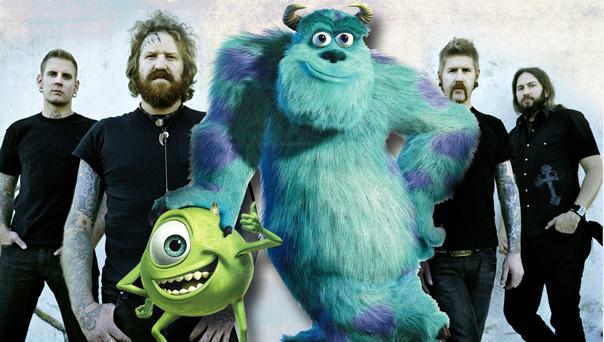 mastodon monsters inc Mastodon contributing music to new Monsters Inc. film