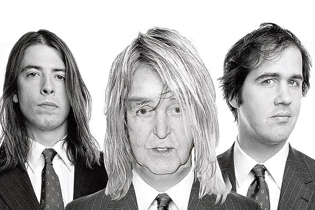 mccartney beatles Nirvana reunites with Paul McCartney, record new song Cut Me Some Slack