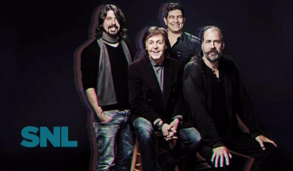 nirvana mccartney Video: Paul McCartney and Nirvana on Saturday Night Live