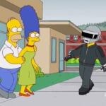Daft Punk Simpsons
