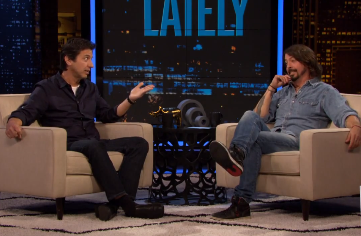 screen shot 2012 12 11 at 3 32 01 pm Watch Dave Grohl host an episode of Chelsea Lately