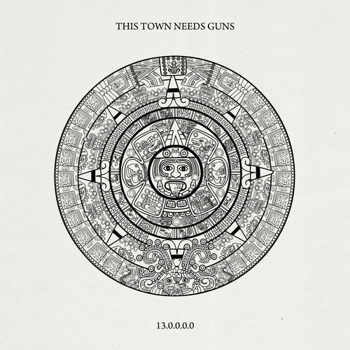 thistownneedsgunscover New Music: This Town Needs Guns   Ill Take the Minute Snake (CoS Premiere)
