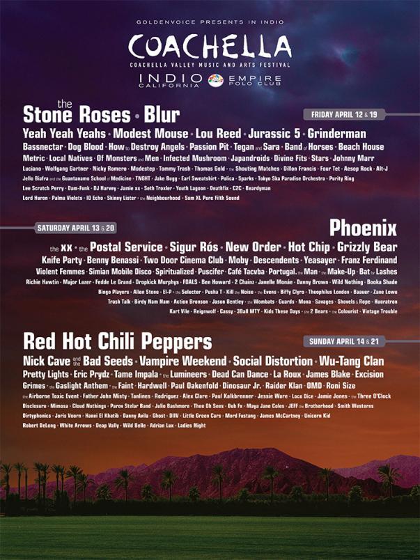 coachella 2013 Coachellas 2013 Lineup: One Day Later
