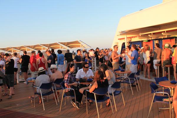deck A Sea of Pulp: Writings Aboard S.S. Coachella