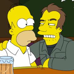 Tom Waits Simpsons