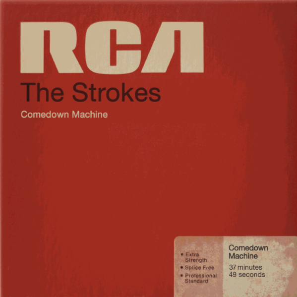 strokescomedowncover The Strokes to release new album Comedown Machine on March 26th