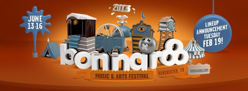 bonnaroo 2013 Bonnaroo to announce 2013 lineup on February 19th