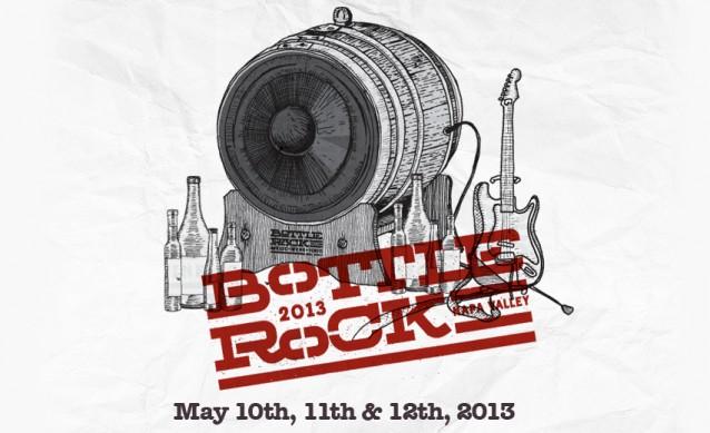 bottle rock 2013 Bottle Rock Festival 2013 lineup revealed