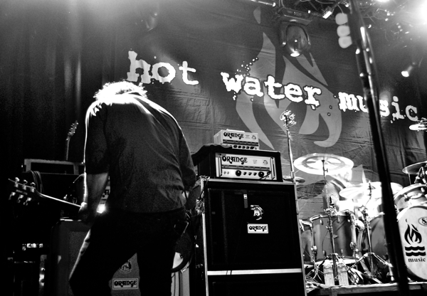 hwm pfleegor3 Live Review: Hot Water Music at Chicagos Metro (1/31)