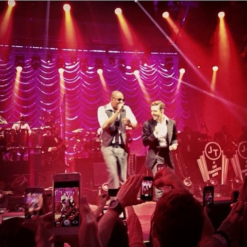 jay z timberlake e1359903875816 Watch Justin Timberlake perform two new songs, Suit & Tie with Jay Z