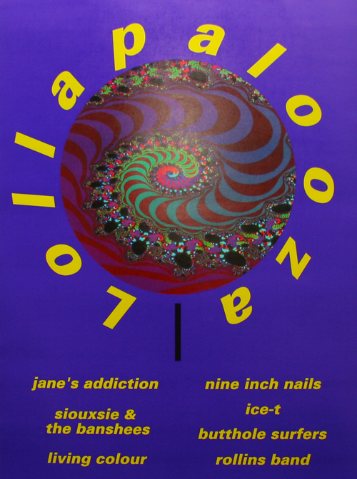 lolla 91 1991 in music, AKA the last time My Bloody Valentine released an album