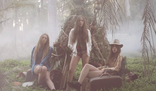 screen shot 2013 02 20 at 7.05.07 am e1361365658153 Watch HAIM sing amid foggy woods in their video for Falling