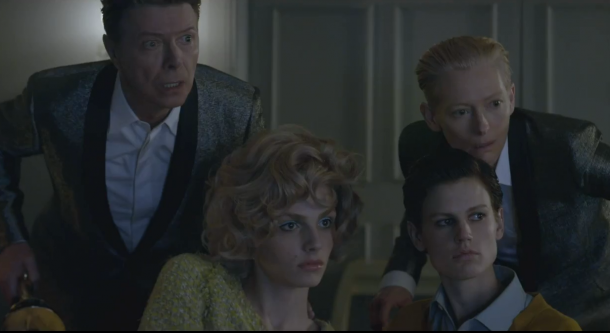 screen shot 2013 02 25 at 10.38.01 pm e1361853580726 Watch the video for David Bowies new single, The Stars (Are Out Tonight)