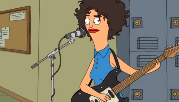 stvicnent bobsburgers Watch St. Vincent perform a song on Bobs Burgers