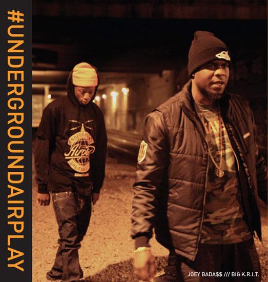 underground airplay1 Video: Joey Bada$$ feat. Big K.R.I.T. and Smoke DZA   Underground Airplay
