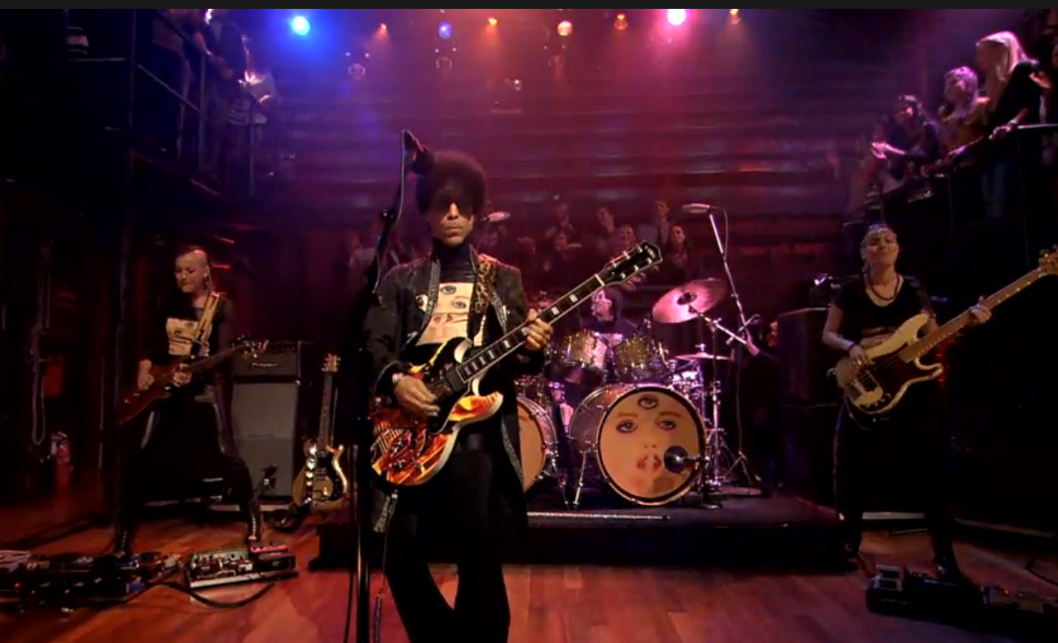 screen shot 2013 03 02 at 7.41.45 am e1362231810539 Watch Prince perform Screwdriver and Bambi on Fallon