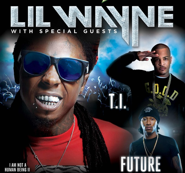 waynetifuturetour Lil Wayne, T.I., and Future team for U.S. tour