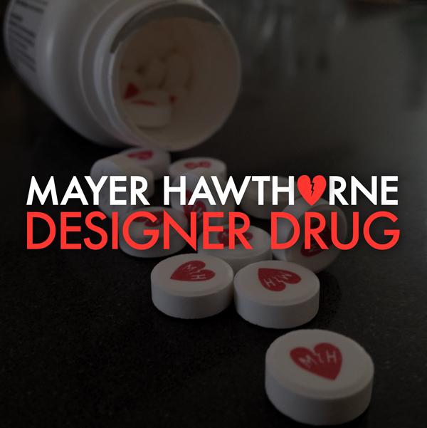designerdrugmayer Listen to Mayer Hawthornes new electro funk ballad, Designer Drug