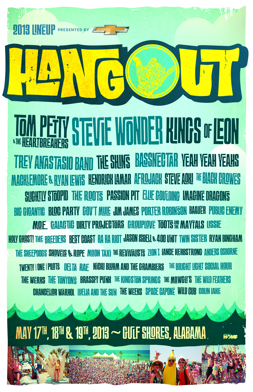 HANGOUT MUSIC FESTIVAL TICKET GIVEAWAY