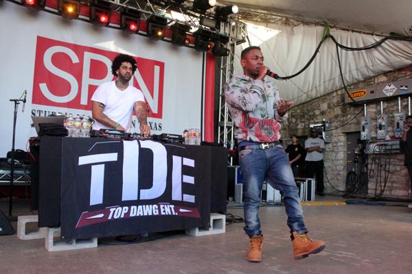 kendrick 10 spin sxsw2013 kaplan Kendrick Lamar announces good kid, m.A.A.d city world tour