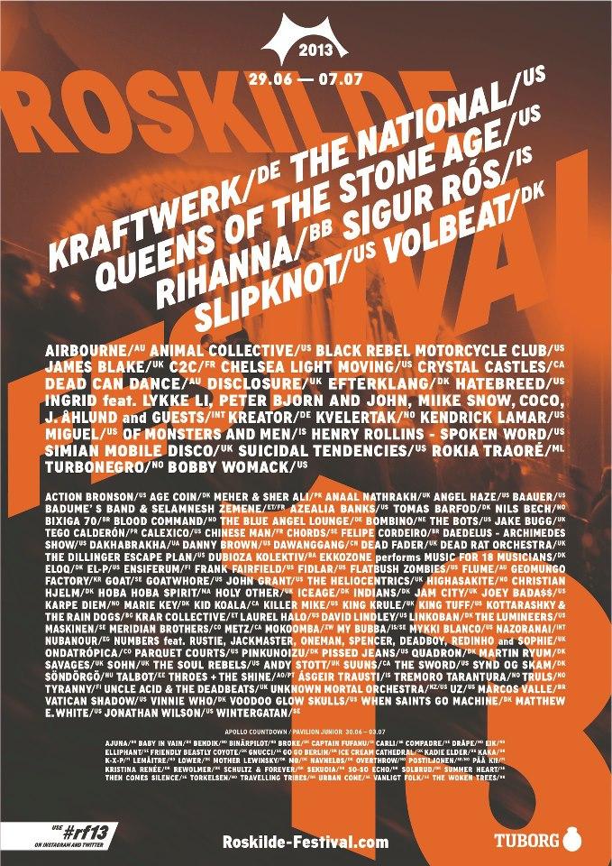 roskilde poster 2013