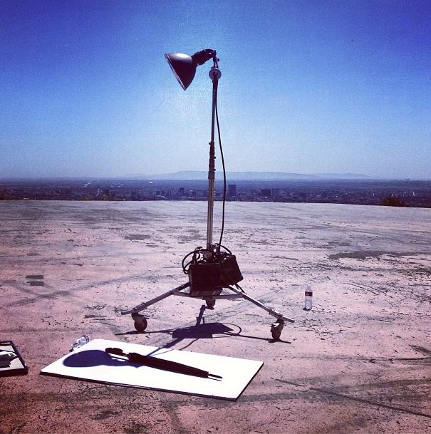 Daft Punk video shoot