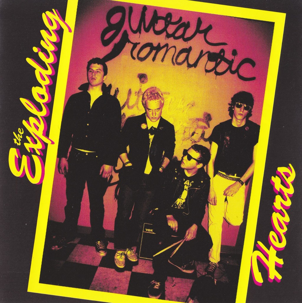 The Exploding Hearts - Guitar Romantic FRONT-1