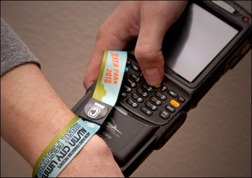 acl festival wristband