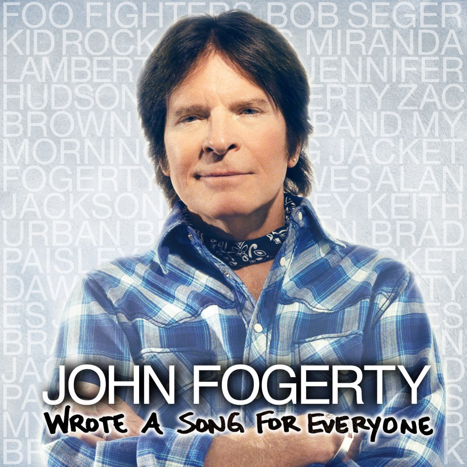 john fogerty wrote a song for everyone Listen to John Fogerty and Foo Fighters brash rendition of CCRs Fortunate Son