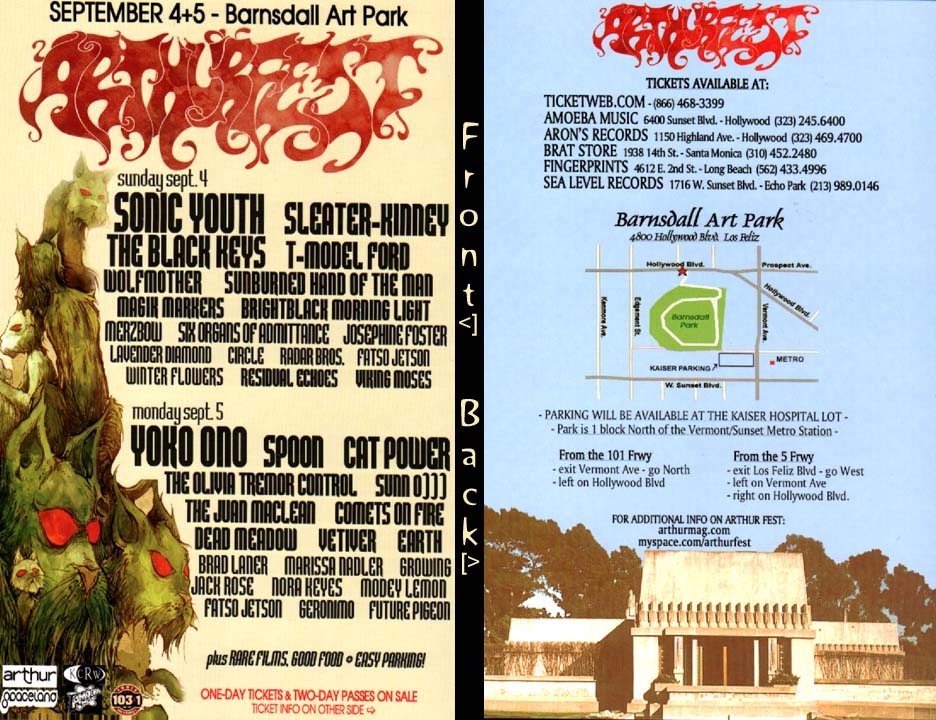 arthurfest Twenty Canceled Music Festivals: A Guide to the Dearly Departed