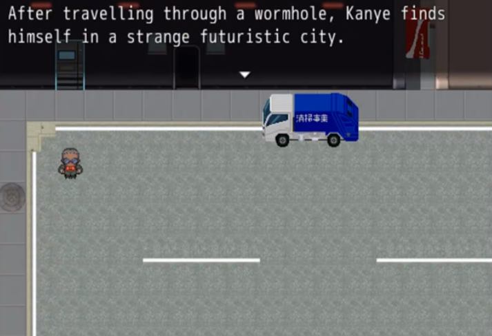 Play the Kanye West-inspired RPG, Kanye Quest 3030