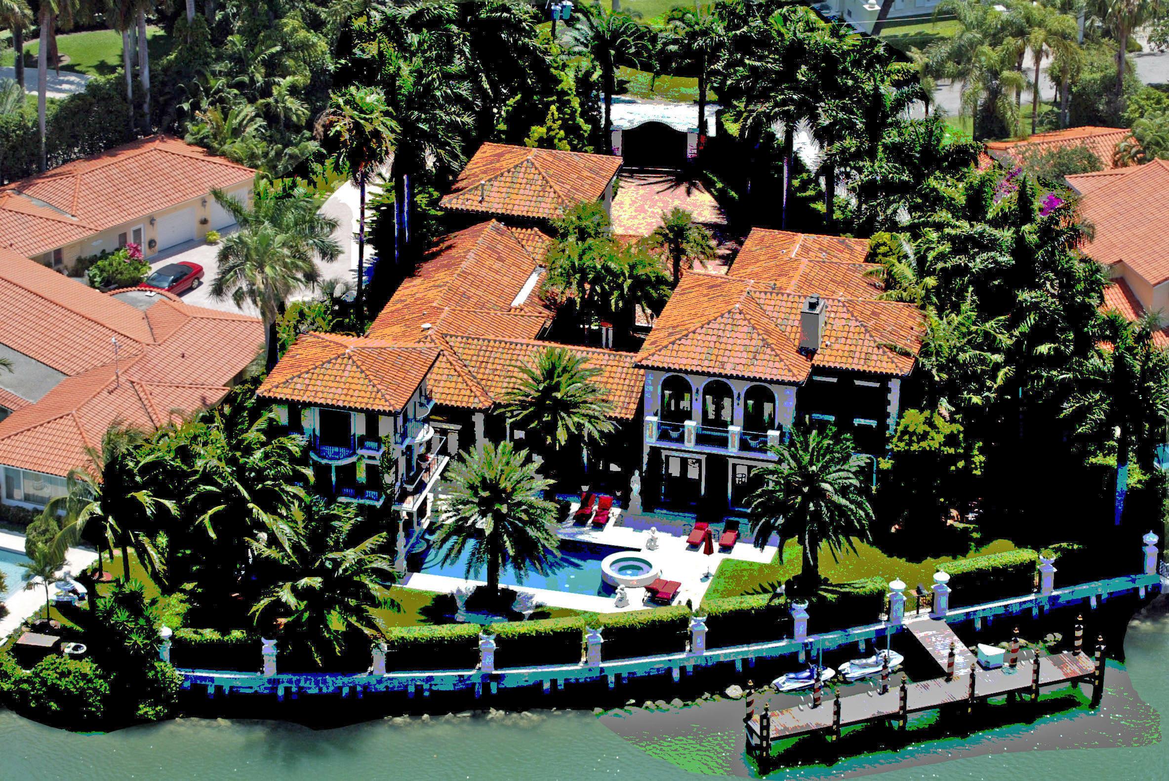 Anna Kournikova sells her 7 bedroom Miami Beach home for $7.43m
