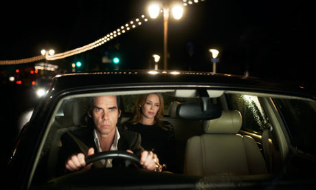 Nick Cave takes Kylie Minogue for a drive in 20,000 Days on Earth.