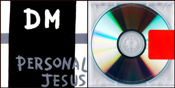personalyeezus Yes, this mashup of Black Skinhead and Personal Jesus is absolutely perfect