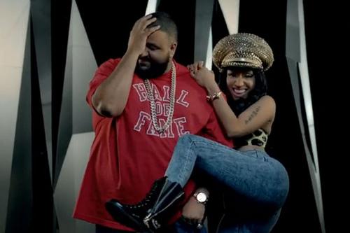 "djkhaledminaj Listen to DJ Khaleds I Wanna Be With You"" feat. Nicki Minaj, Rick Ross, and Future"