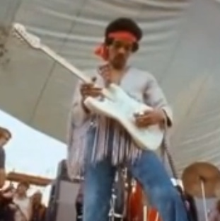 Video Rewind Jimi Hendrix Performs The Star Spangled Banner At Woodstock Consequence Of Sound
