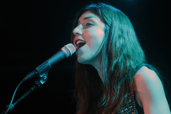 juliaholter1chin Live Review: Julia Holter at New York Citys (Le) Poisson Rouge (7/12)