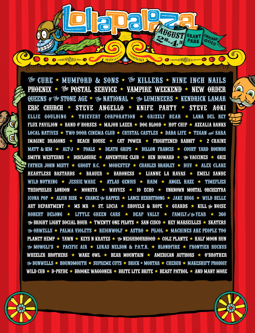 lollapalooza2013 Win tickets to Lollapalooza 2013