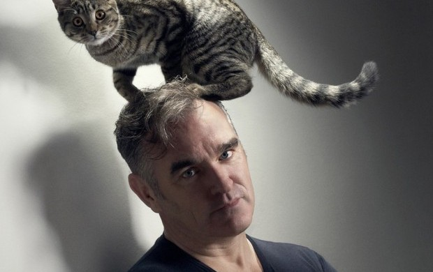 morrissey cat1 e1362357650743 Guess what? Morrissey has postponed his South American tour
