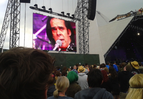 Nick Cave by Tony Hardy