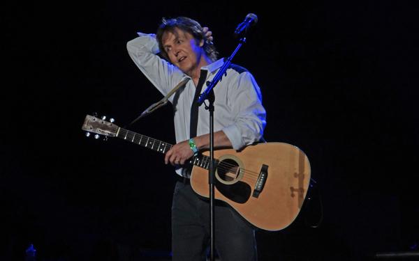 paulmccartney koellner Paul McCartney and Nirvana, a.k.a. Sirvana, performed in Seattle Friday night