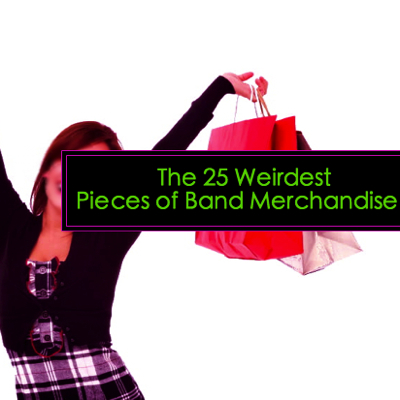 The 25 Weirdest Pieces of Band Merchandise | Consequence of