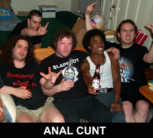 analcunt The 25 Most Ridiculous Band Names