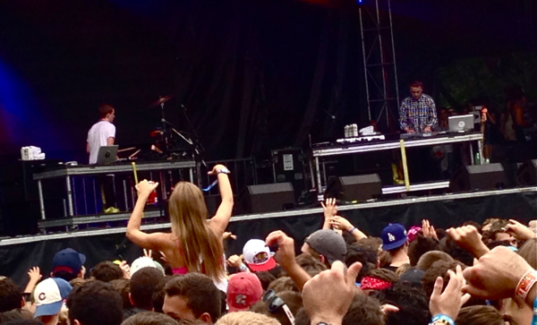 disclosure2roffman Top 13 Moments of Lollapalooza 2013: Day One