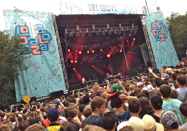 disclosureroffman1 Top 13 Moments of Lollapalooza 2013: Day One