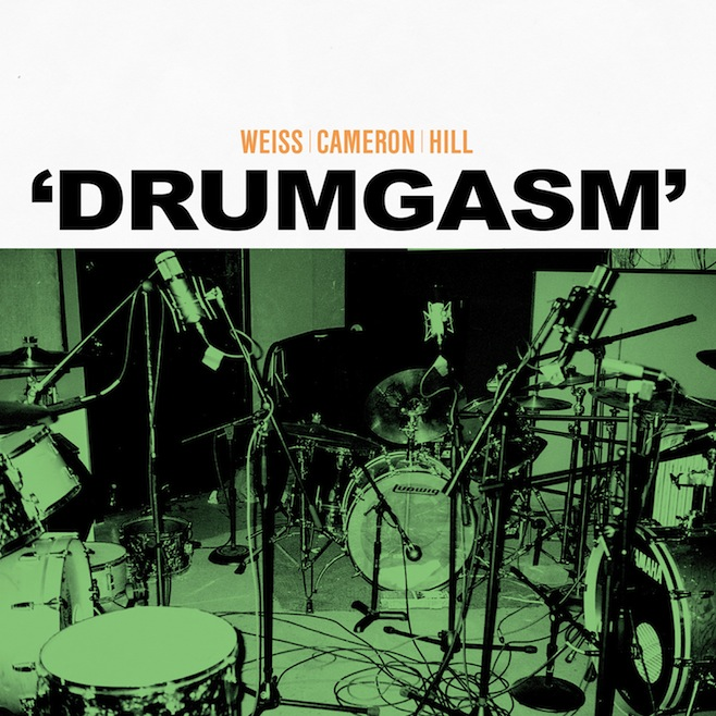 drumgasmlargecover Stream Drumgasm, or what happens when Matt Cameron, Zach Hill, and Janet Weiss make an album
