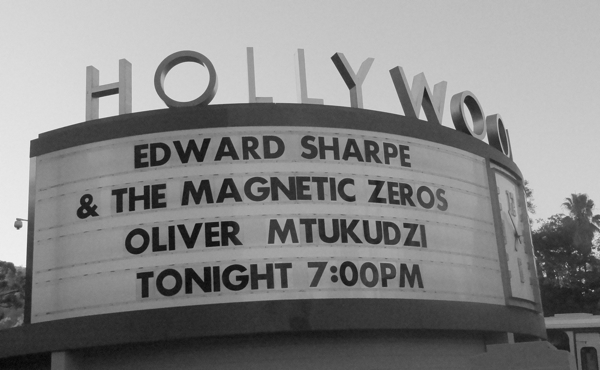 edsharpe600hodges Live Review: Edward Sharpe and the Magnetic Zeros at LAs Hollywood Bowl (8/4)