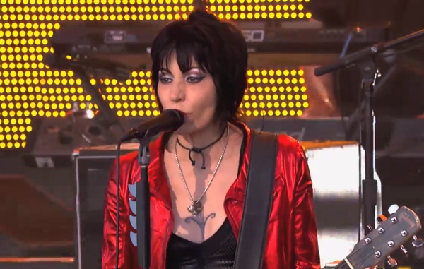 joanjett600 Watch Joan Jett debut new single, Any Weather, on Jimmy Kimmel Live!