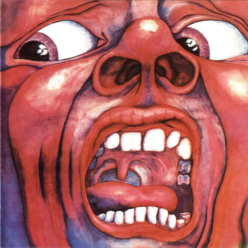 king crimson in the court The 50 Most Outrageous Album Covers